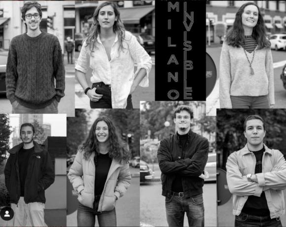 la squadra di Milano Invisibile