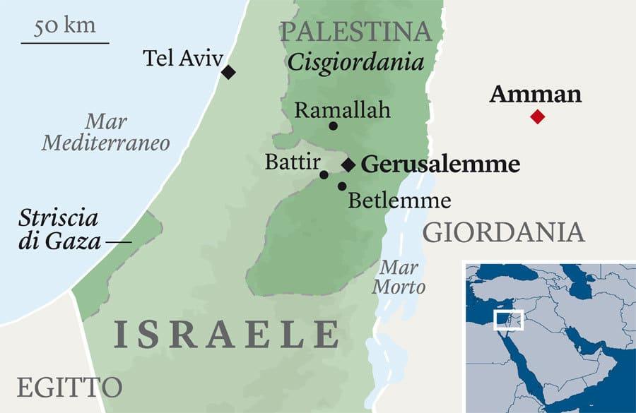 Israele Palestina Cartina.Conflitto Israeliano Palestinese Per Capire Di Piu 8pagine