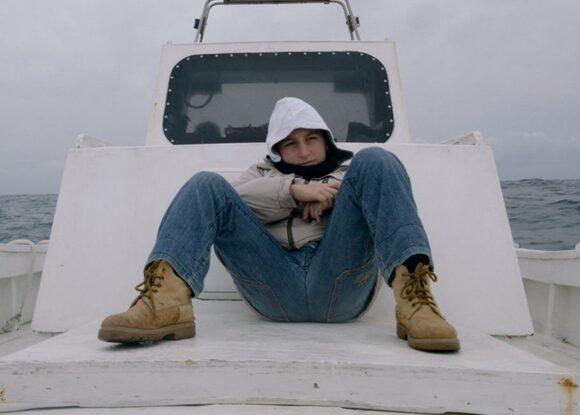 Samuele nel film Fuocoammare, 2016
